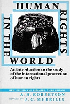 HUMAN RIGHTS IN THE WORLD                               New revised and expanded, 3rd ed.