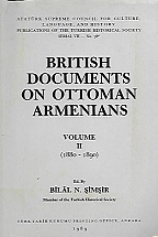 BRITISH DOCUMENTS ON OTTOMAN ARMENIANS - VOLUME II (1880-1890)