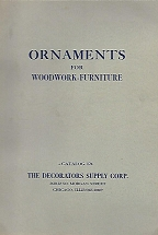 ORNAMENTS FOR WOODWORK - FURNITURE Catalog 124